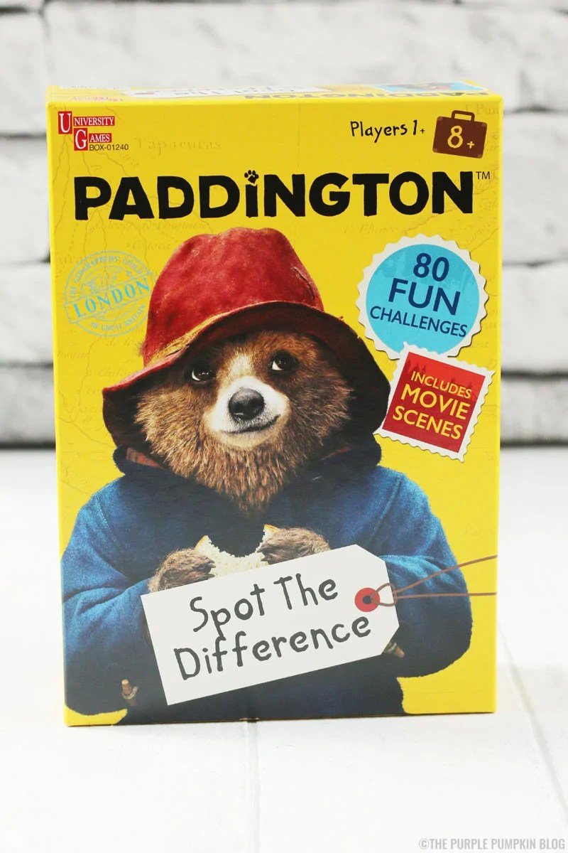 Paddington Bear Games