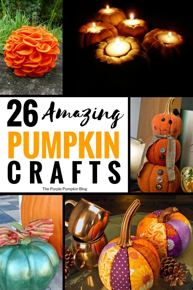 26 Amazing Pumpkin Crafts for Adults