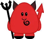 Cute Lil' Devil by The Purple Pumpkin Blog