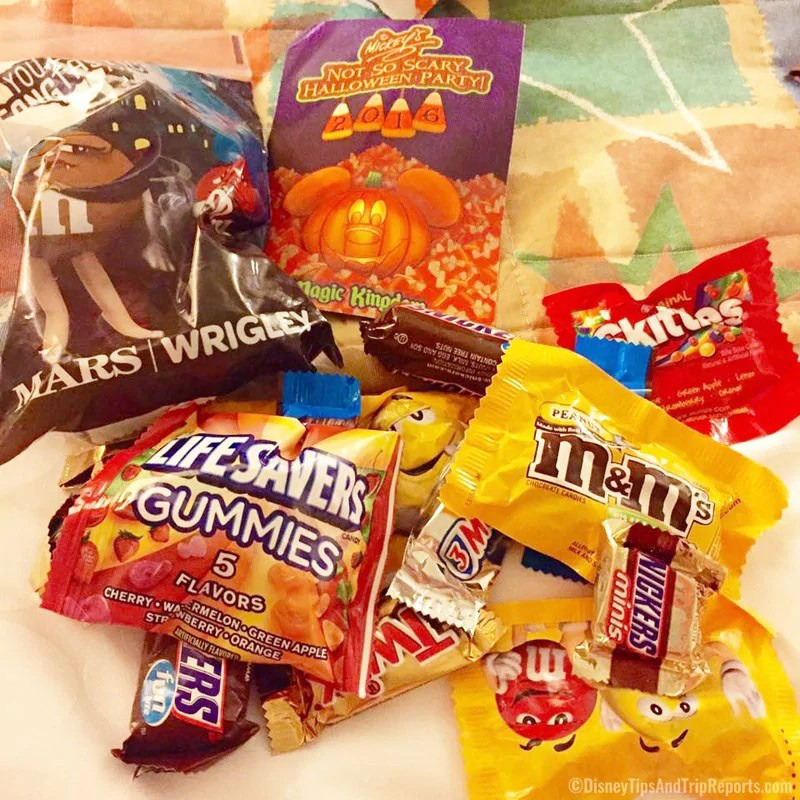 Candy Packs - Mickey's Not-So-Scary Halloween Party