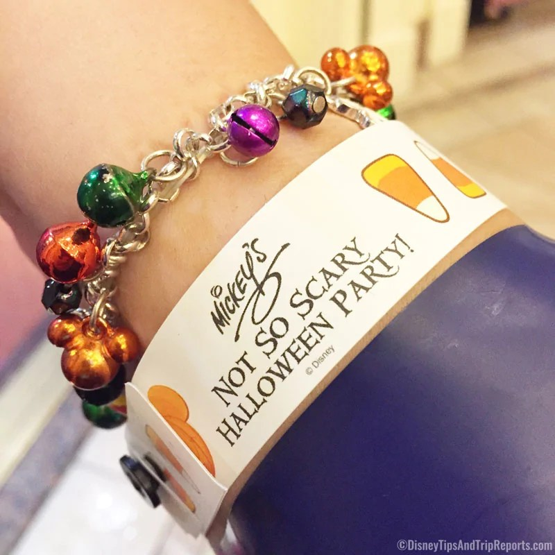Mickey's Not-So-Scary Halloween Party Wrist Band