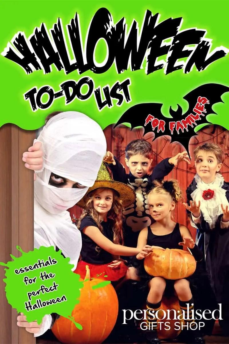 Personalised Gifts Shop Kids Halloween Pack