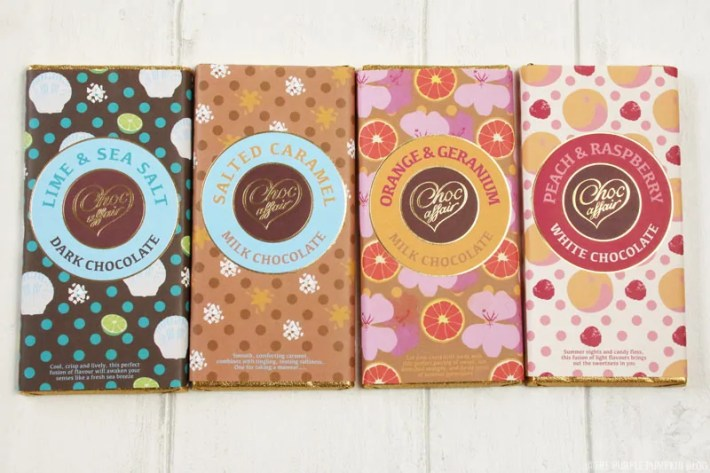 With many exciting flavours to explore, we believe our luxurious handmade chocolate bars have something for everyone! Our bases of milk, dark and white chocolate are simply delicious alone or if you would like to tantalise your taste buds with more exotic flavours we've certainly got plenty for you to try.