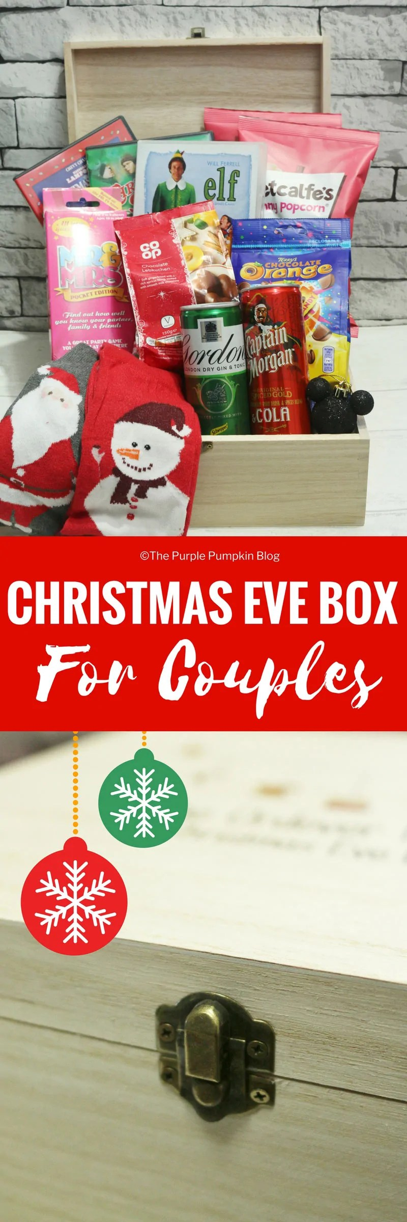 Christmas Eve Box For Couples