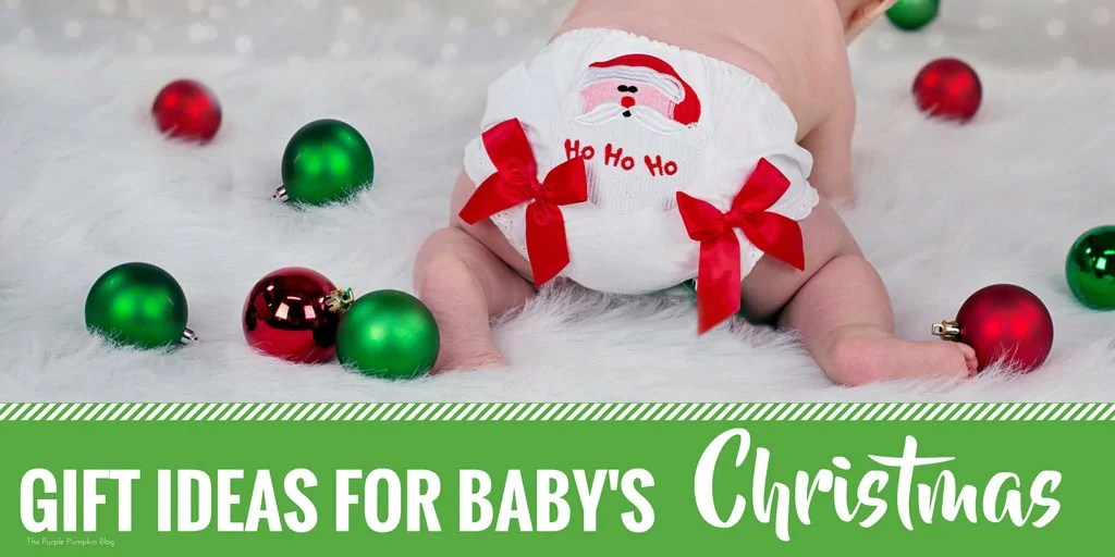 Gift Ideas for Baby's 1st Christmas. A baby's first Christmas is a lovely milestone - no matter what their age. They may be just a few days, weeks, or months old, or nearing their 1st birthday! This gift guide has some wonderful gifts for babies aged 0-12 mths.