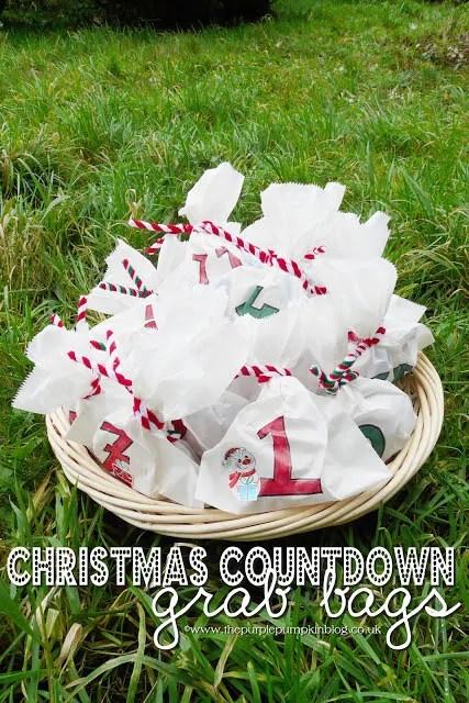 Christmas Countdown Grab Bags
