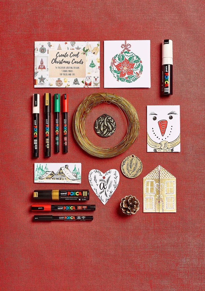 POSCA Pens Christmas Make Today Kit