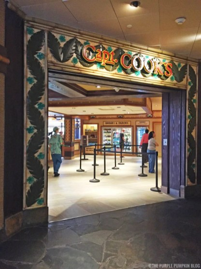 Capt. Cook's, Disney's Polynesian Village Resort