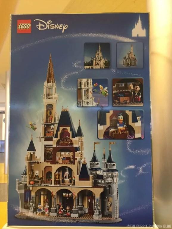 Cinderella Castle Lego Set