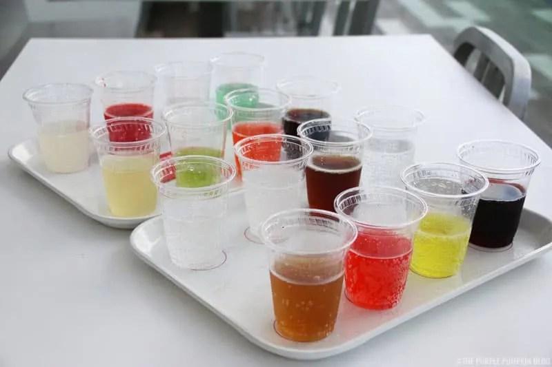 Disney Springs - Coca-Cola Shop Rooftop Beverage Bar - Tastes of the World