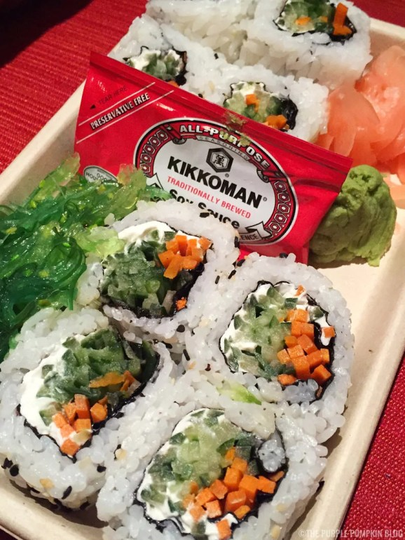 Sushi - Capt. Cook's, Disney's Polynesian Village Resort