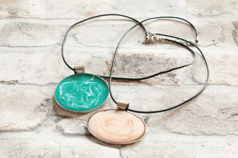 Cold Enamel Necklaces