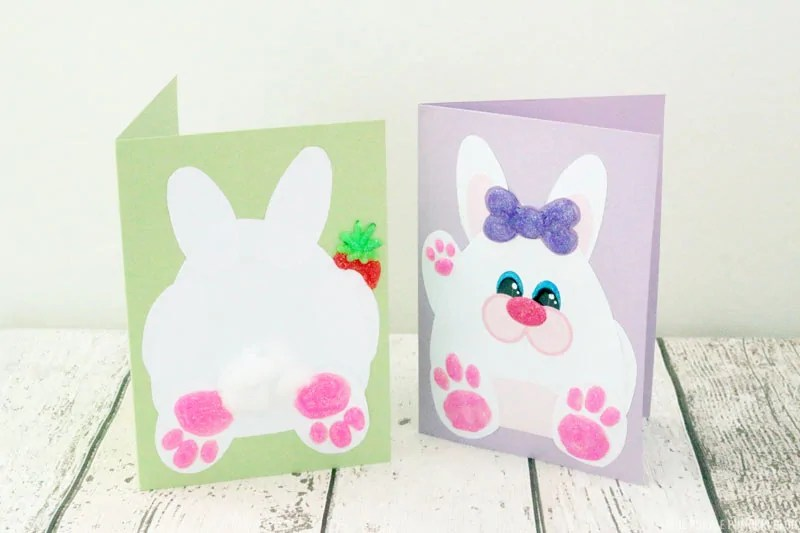 Easter Bunny Cards
