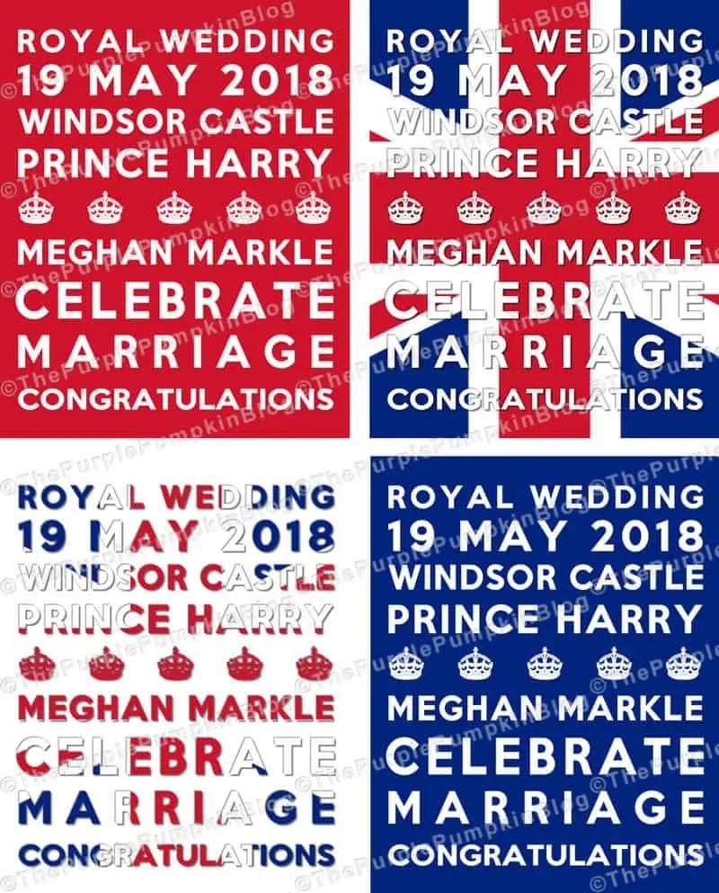 Royal Wedding Subway Art Poster