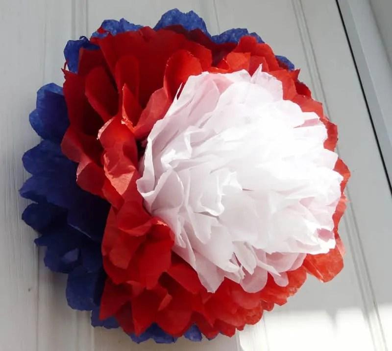 Union Jack paper rosette