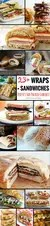 Do you find yourself having the same food for lunch, day in, day out? Stuck for ideas of what to prepare for packed lunches for work? You've hit the right page on the internet as I've got 23+ Wrap & Sandwich Recipes that are perfect for packed lunches!