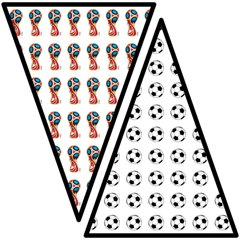 Free Printable World Cup Flags/Pennants