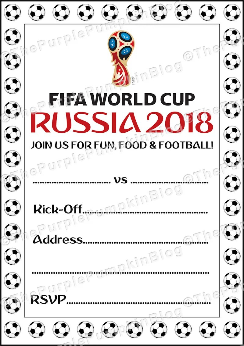 World Cup Match Invite