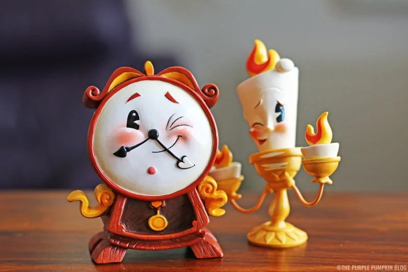 Cogsworth & Lumiere Figurines