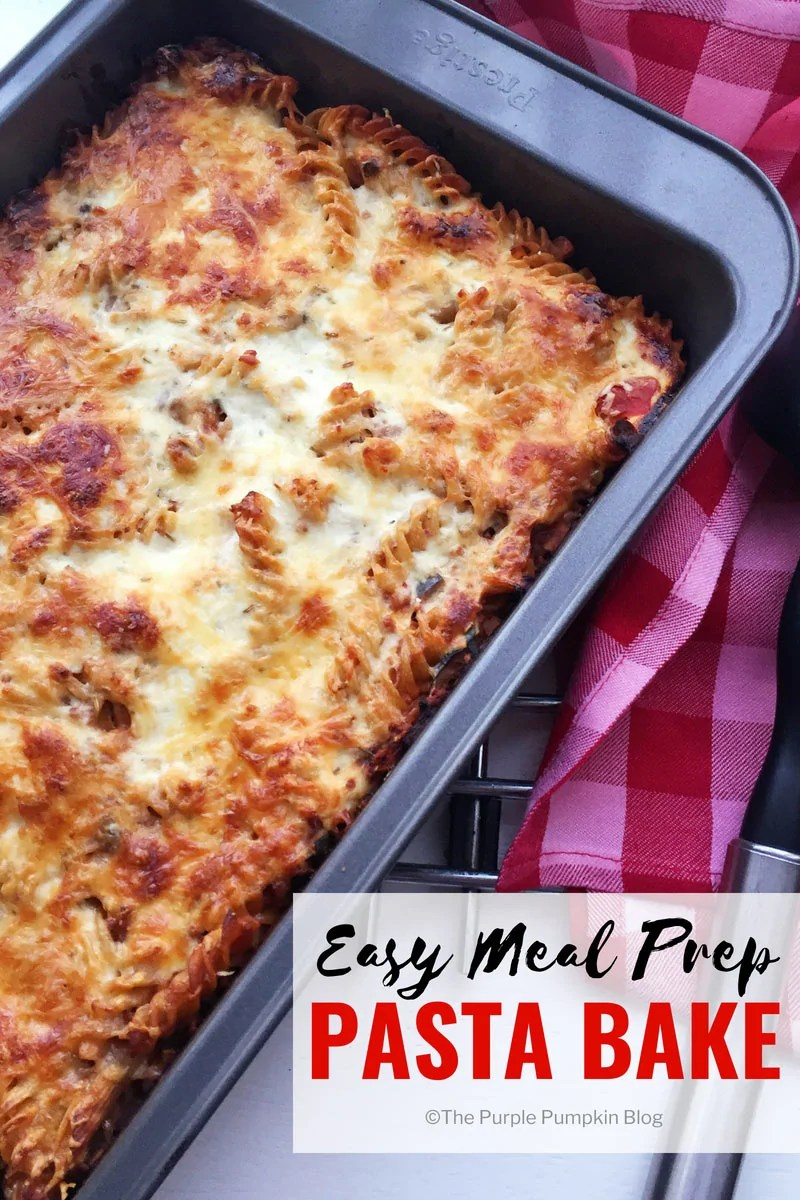 Easy meal prep pasta bake meal prepping is awesome you can save so much time not to mention money forumfinder Image collections