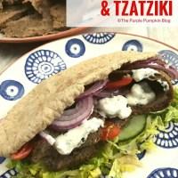 Homemade Doner Kebabs & Tzatziki