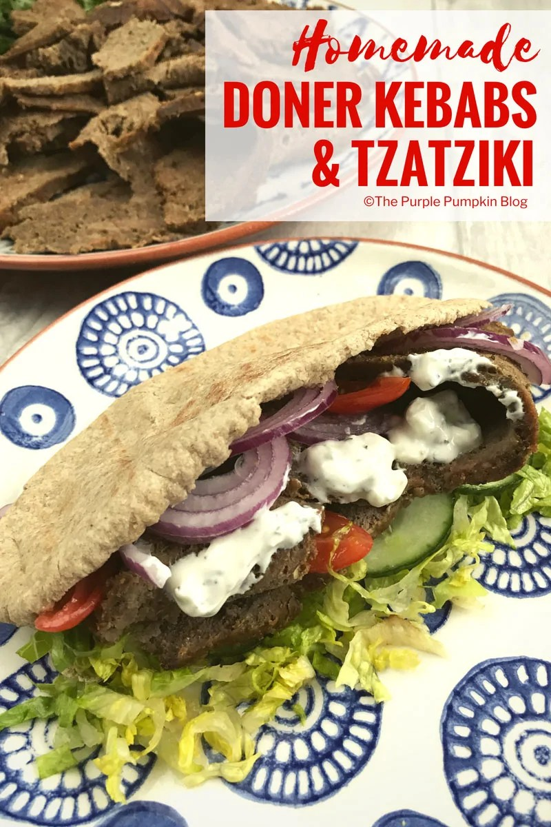 Homemade Doner Kebabs & Tzatziki. This recipe for homemade Doner Kebabs is really easy to make, and for the same price of maybe one doner from a kebab van or shop, you can make enough for the whole family!