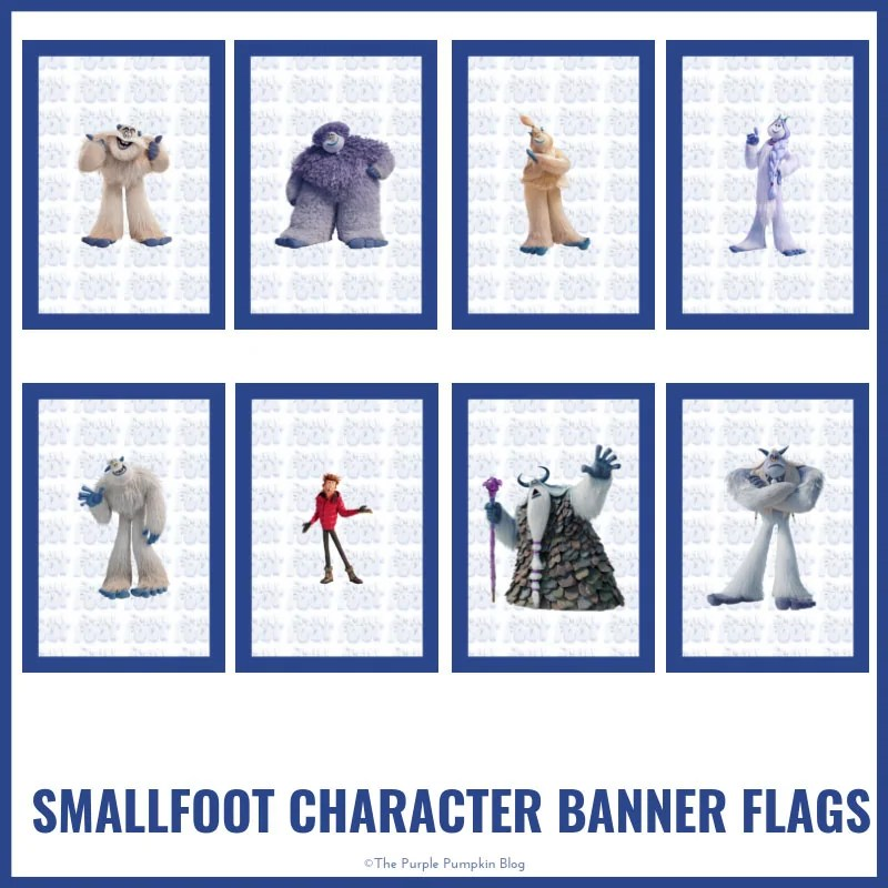 Smallfoot - Character-Banner
