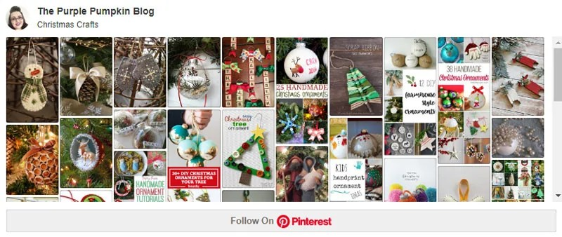 Christmas Crafts Board on Pinterest