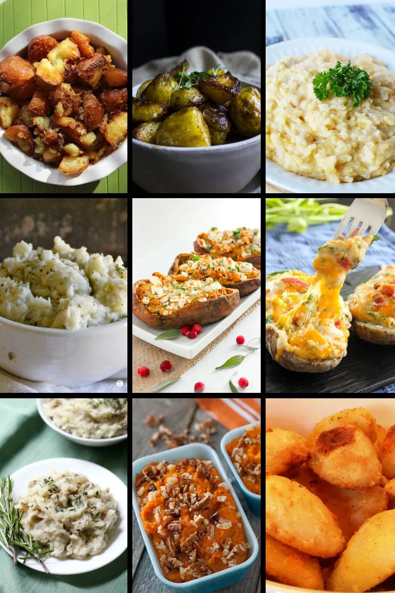 Christmas Side Dishes - Potato Sides