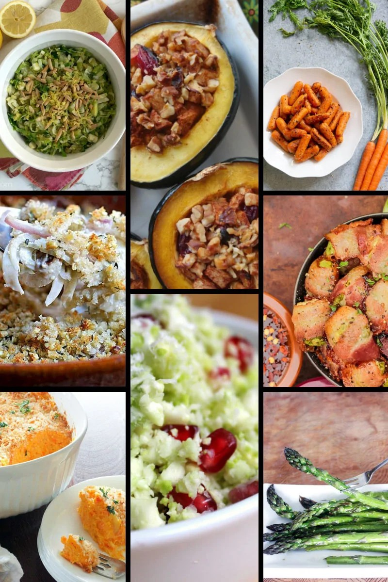 Christmas Side Dishes - Vegetables