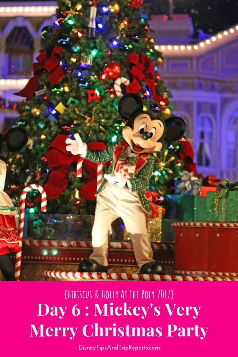 Mickeys Very Merry Christmas Party.Day 6 Mickey S Very Merry Christmas Party H H Tp 2017