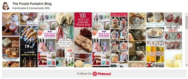 Handmade & Homemade Gifts on Pinterest