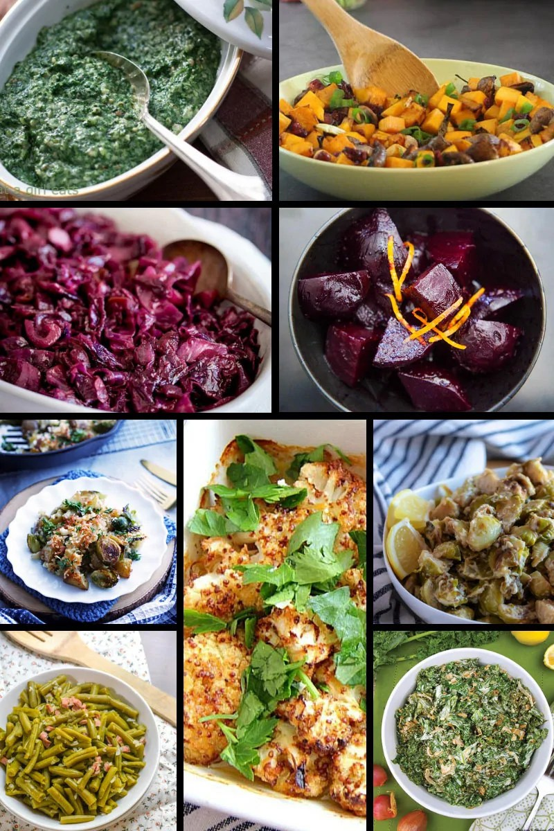 Vegetable Christmas Side Dishes