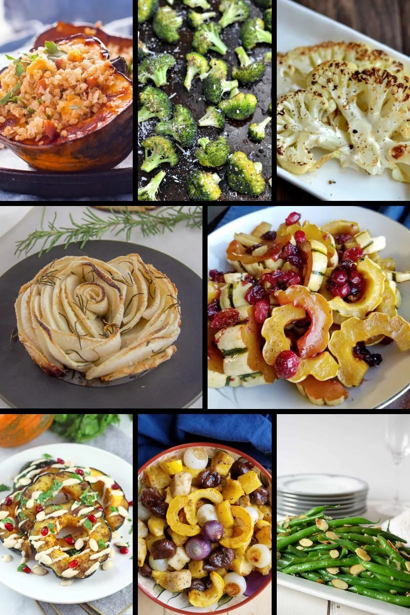 Vegetable Side Dishes for Christmas