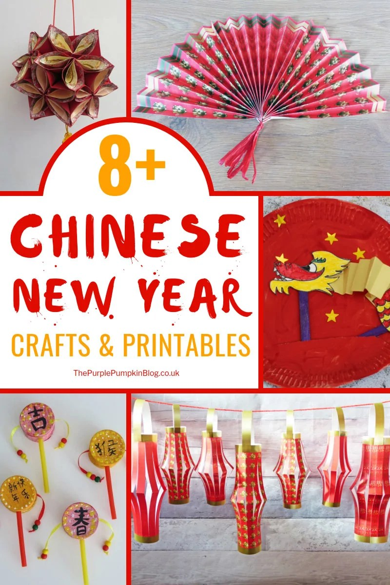 8 Chinese New Year Crafts Printables