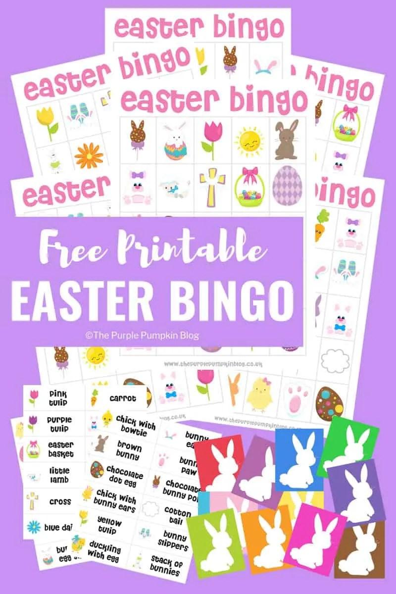 photograph regarding Free Printable Easter Bingo Cards known as Totally free Printable Easter Bingo Recreation