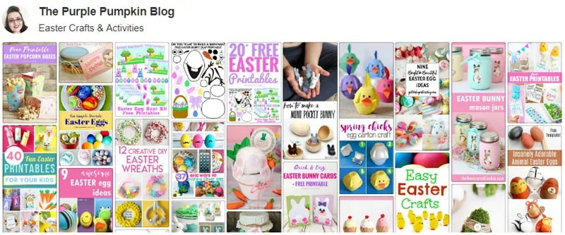 Easter Crafts & Activities Board on Pinterest