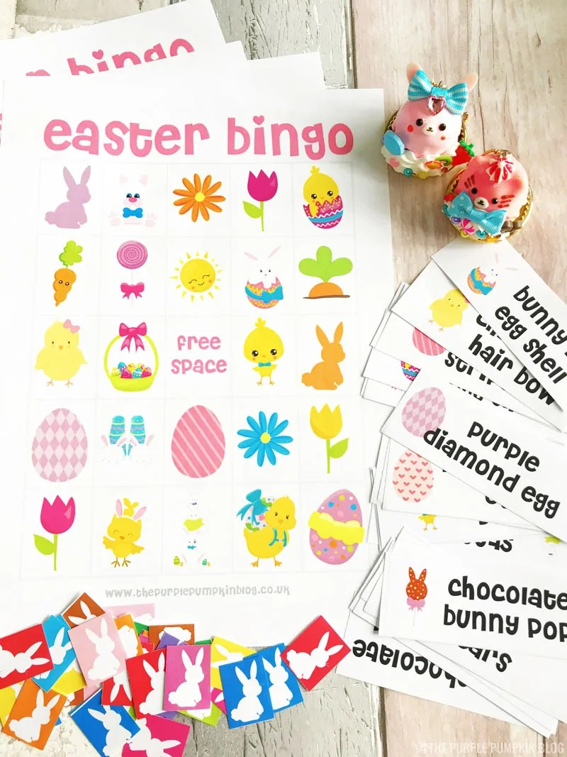 graphic regarding Free Printable Easter Bingo Cards named Free of charge Printable Easter Bingo Video game