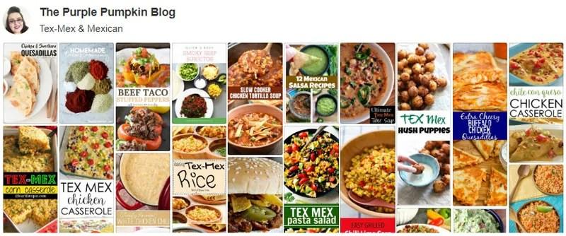 Tex-Mex & Mexican Recipes Board on Pinterest