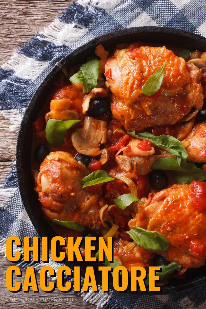This one pan Chicken Cacciatore is a delicious, comforting Italianchicken dish, that makes a great family meal any day of the week.