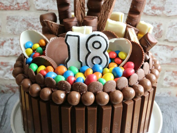 Excellent How To Make A Chocolate Explosion Cake Funny Birthday Cards Online Elaedamsfinfo