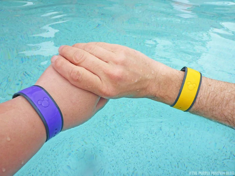 Legacy MagicBands - Purple and Yellow
