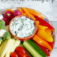 Low Fat Lemon & Parsley Dip