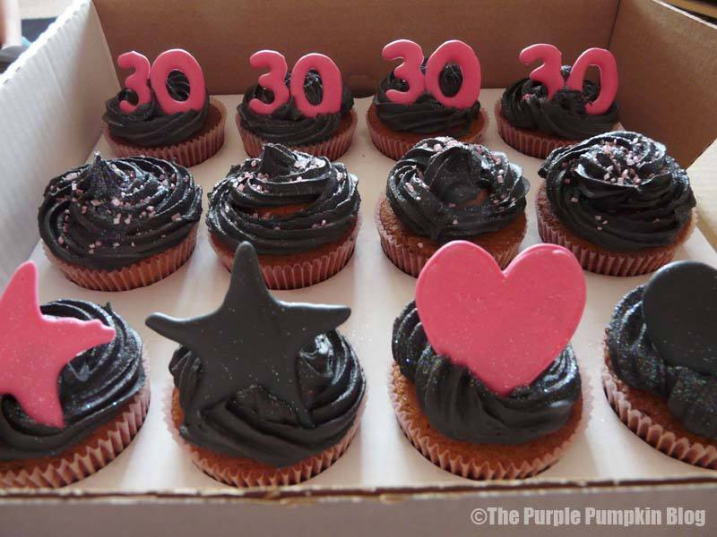 30th Cupcakes