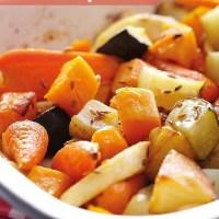 Spiced Roasted Autumn Vegetables