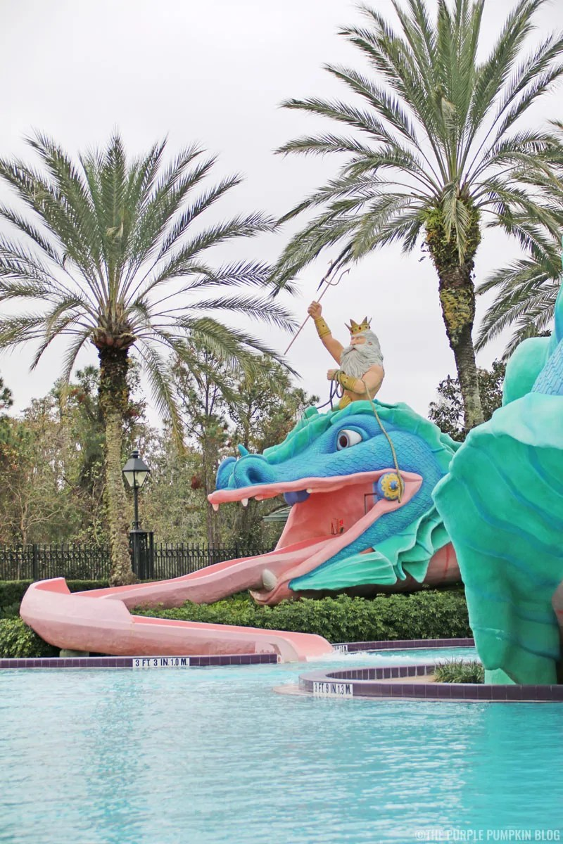 Water Slide at Disney's Port Orleans French Quarter