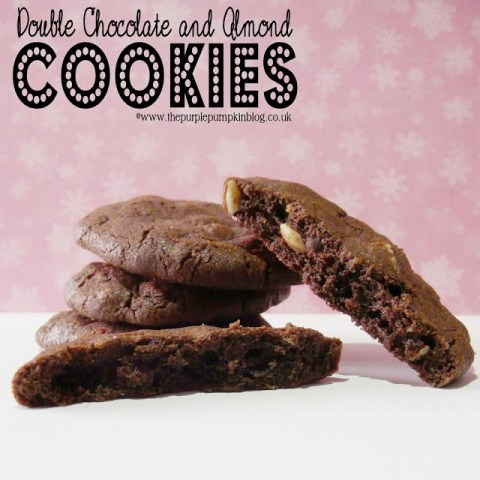 Double Chocolate & Almond Cookies