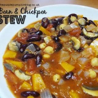 Kidney Bean & Chickpea Stew