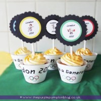 London 2012 Cupcakes