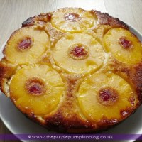 Pineapple & Coconut Upside Down Cake